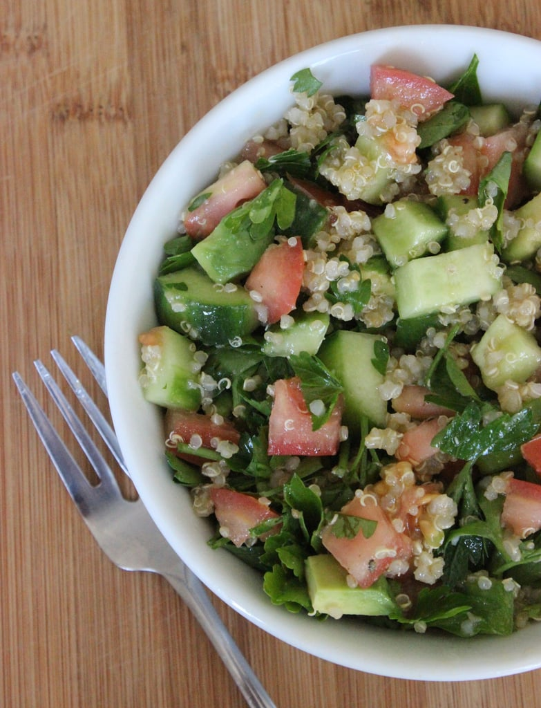 Quinoa Tomato and Cucumber Salad