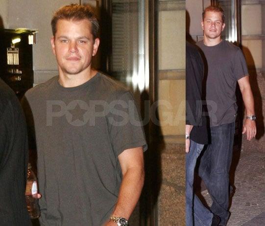 How Fatherhood Fattened Up Matt Damon