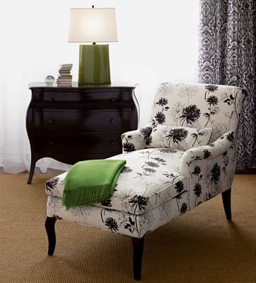 Crave Worthy: Crate & Barrel Josephine Right Arm Chaise