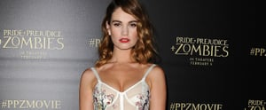All the Reasons Lily James Is a Bona Fide Fashion It Girl