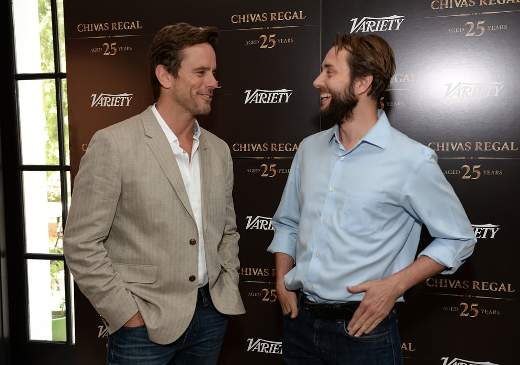 Chip Esten chatted with Vincent Kartheiser at the Variety event.