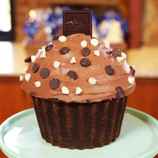 Giant Ghirardelli Chocolate Cupcake