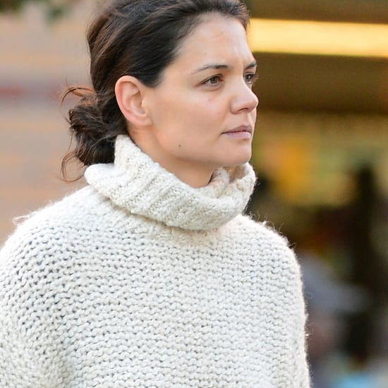 Katie Holmes Talking to Ethan Hawke in NYC | Pictures