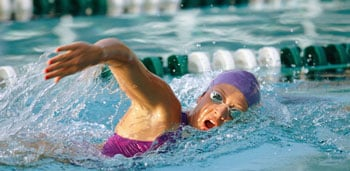 Swim Tip: Swim Downhill