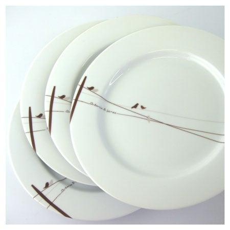 Monogrammed Dinnerware Is Popular Among Newlyweds