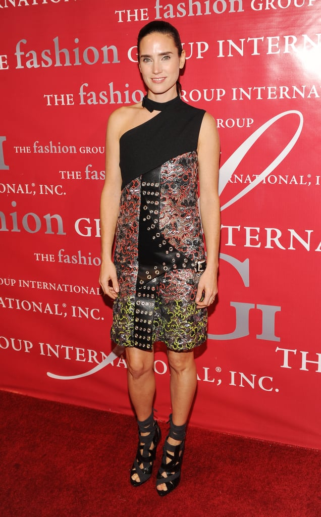 As the former face of the brand and a very loyal fan, Jennifer Connelly actually wore two Balenciaga outfits to the 2010 Night of Stars in NYC, but this one was our favourite.