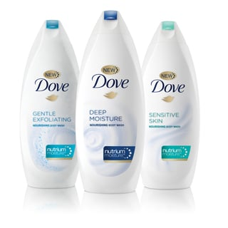 See You Lather: The Dove® Body Wash Difference