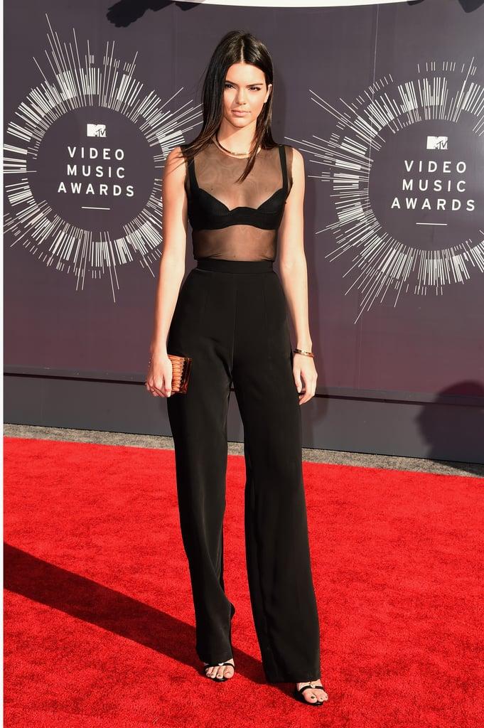 Kendall Jenner at the 2014 MTV VMAs