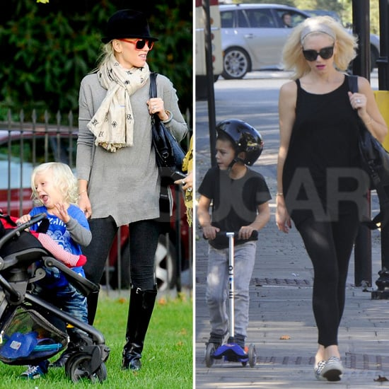 Gwen Stefani Has More Playdates in London For Zuma and Kingston
