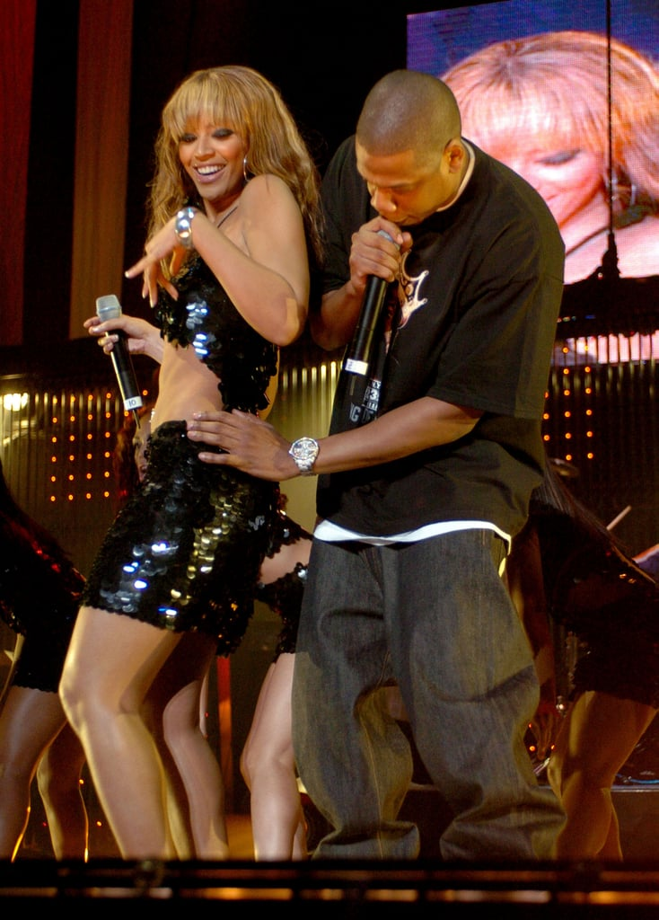 In November 2003, Beyoncé and Jay-Z performed at Madison Square Garden in New York City.
