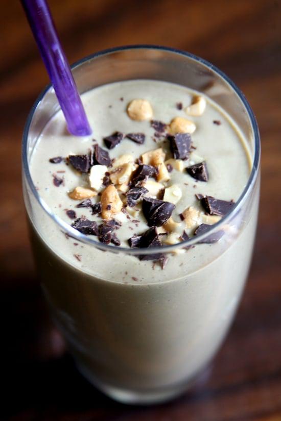 Chocolate Banana Cashew Smoothie
