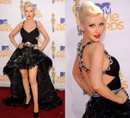Christina Aguilera at 2010 MTV Movie Awards 2010-06-06 17:31:01