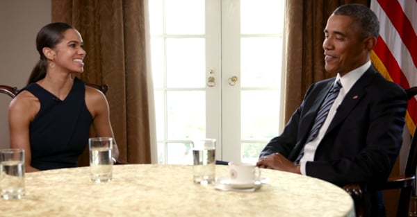 President Obama Shares Inspiring Words on Body Image Alongside Misty Copeland