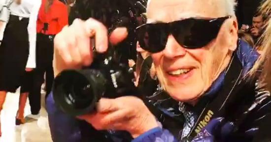 Watch Bill Cunningham Having the Best Fashion Week