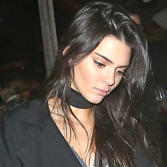 Kendall Jenner's Formula For An Anything-But-Basic Black Outfit