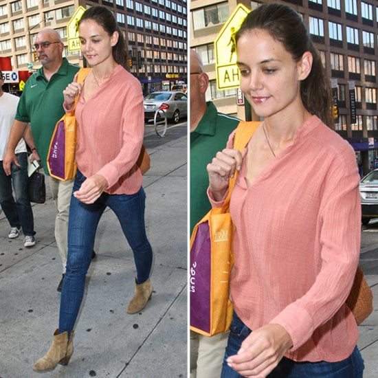 Katie Holmes perfected the art of easy street style, and now you can make the look your own.
