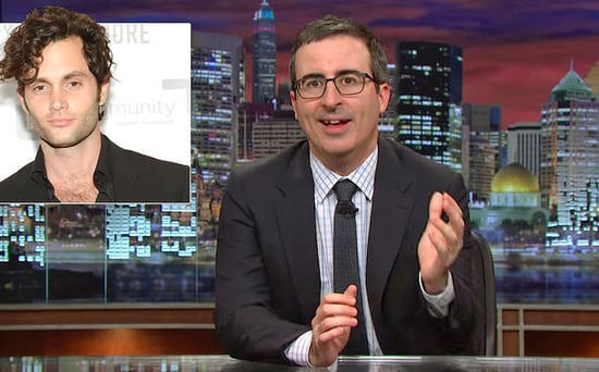 FROM EW: John Oliver Prepares Students for School by Spoiling Classic Novels and Mocking Penn Badgley