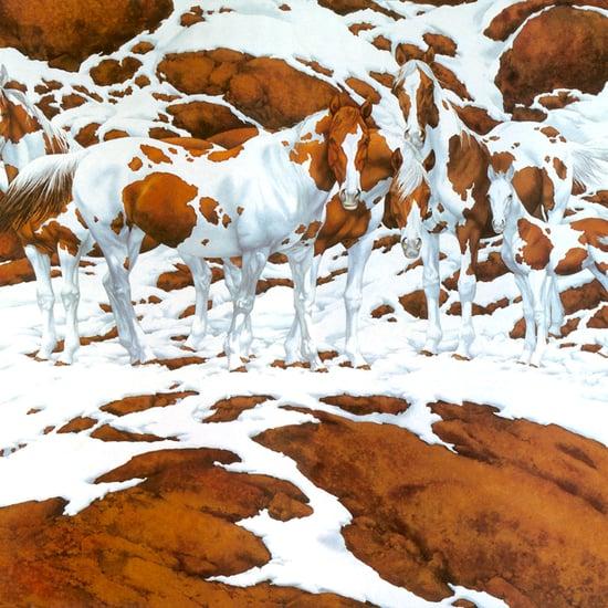 Horse Optical Illusion Painting