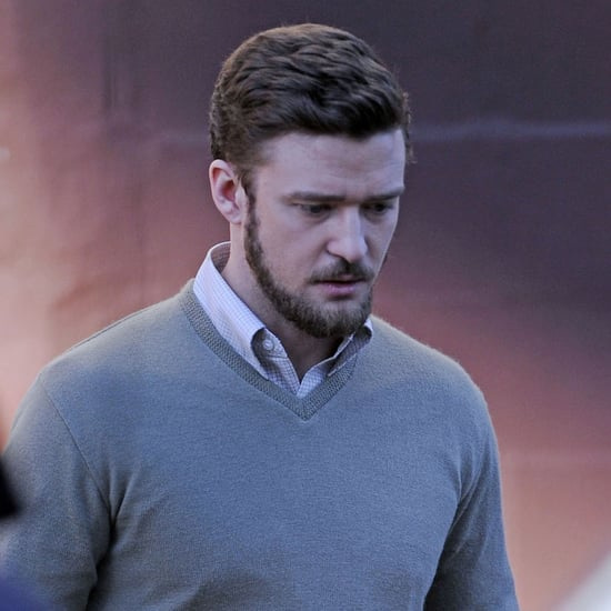 Jessica Biel Pictures Visiting Justin Timberlake on Set