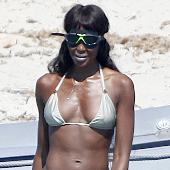 Naomi Campbell in a Bikini in Ibiza | Photos
