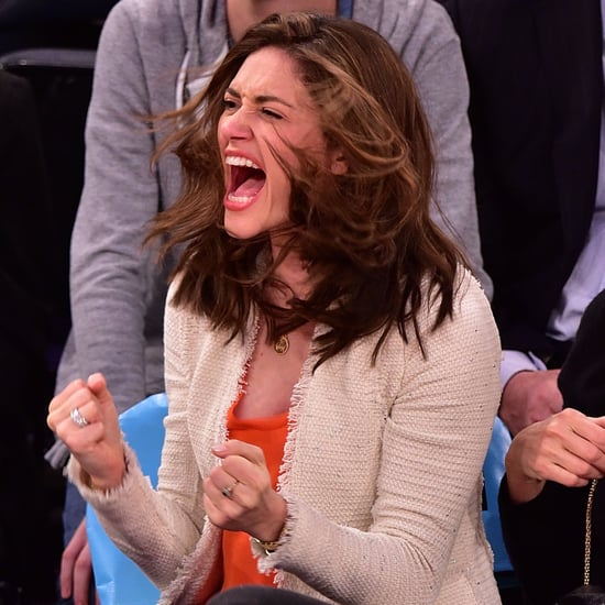 Celebrities Cheering at Sports Games