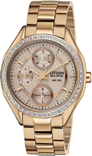 CITIZEN Ladies Eco-Drive POV 2.0 Day Date Watch