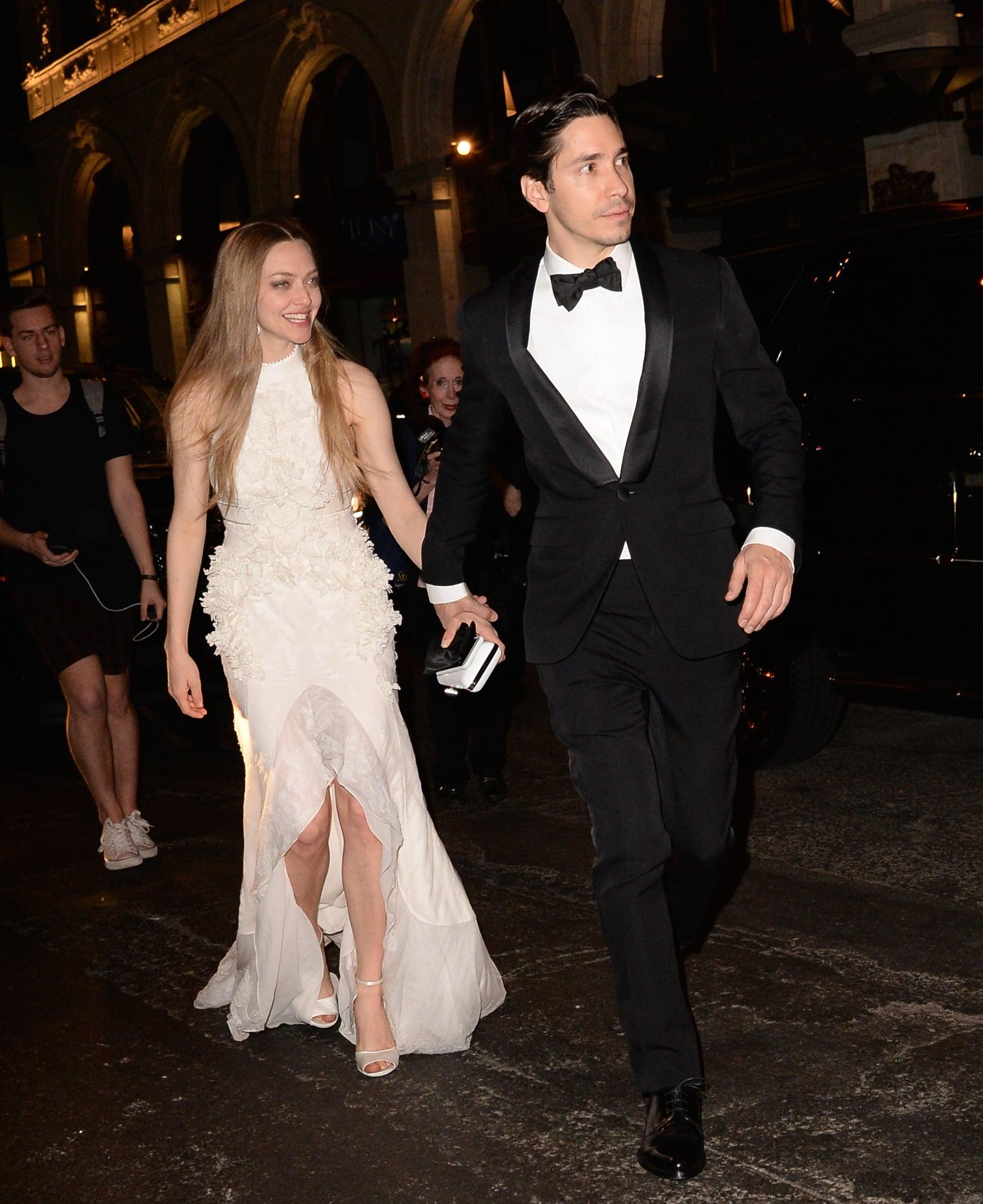 Amanda Seyfried and Justin Long | Go Inside the Met Gala ...  |Amanda Seyfried And Justin Long