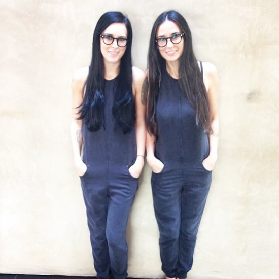 Rumer Willis and Demi Moore's Twinning Instagram