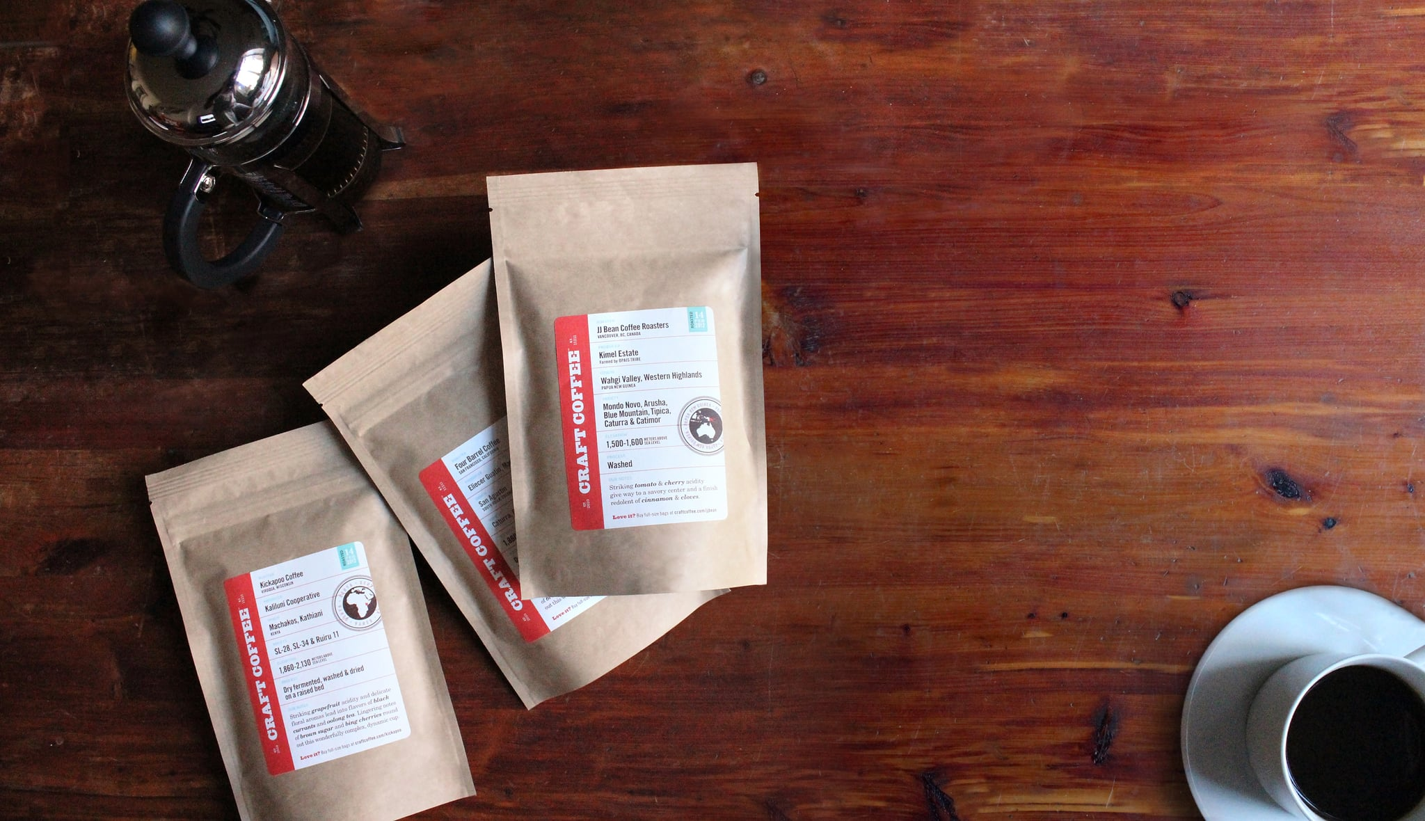 Craft Coffee Subscription