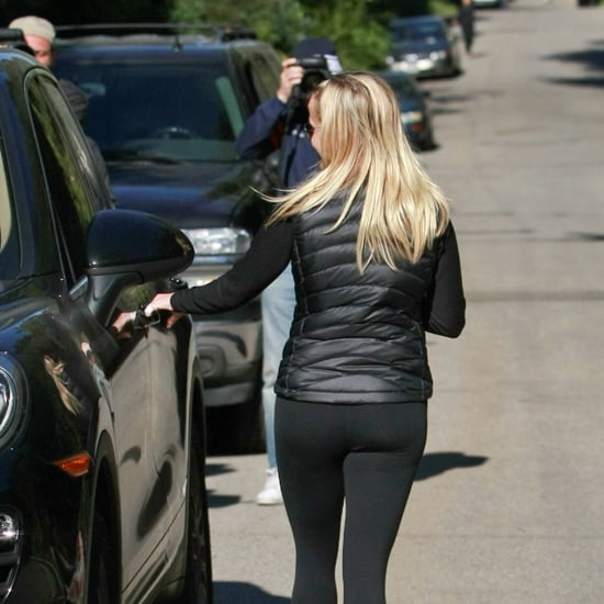 Picture of Celebrity in Lululemon Capris and Patagonia Vest