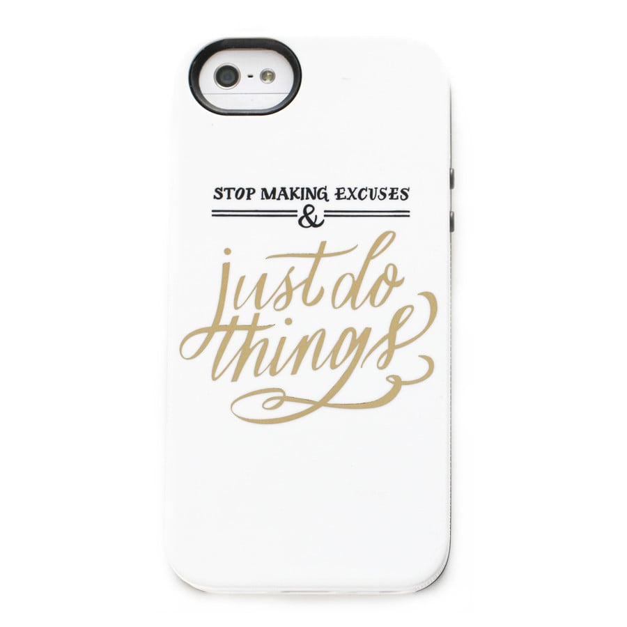 Stop Making Excuses iPhone 5/5S Case