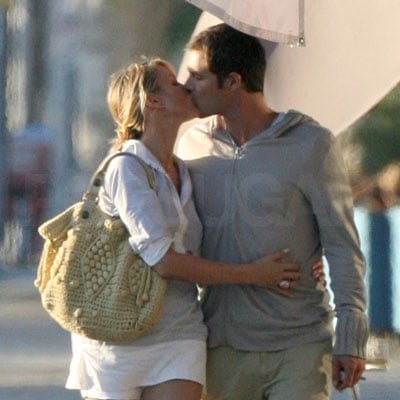 Cameron Diaz and Paul Sculfor