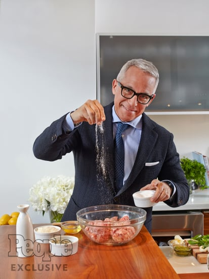 Why Chef Geoffrey Zakarian Wears a Tailored Tom Ford Suit When He's in the Kitchen