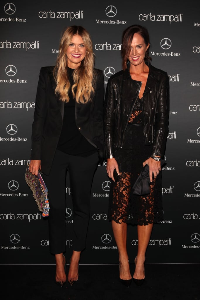 Elle Ferguson and Tash Sefton at MBFWA Day One