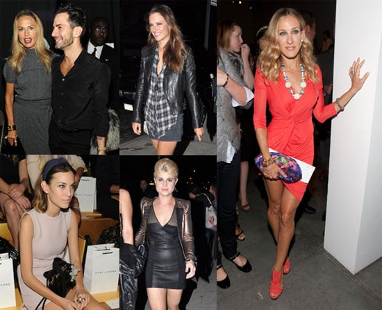 Pictures of Sarah Jessica Parker, Rachel Zoe, Alexa Chung, and More at 2011 Spring New York Fashion Week