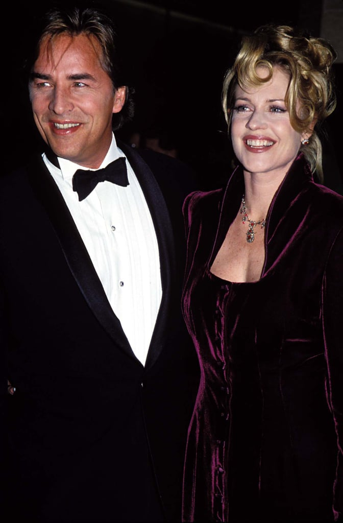 Melanie Griffith and Don Johnson