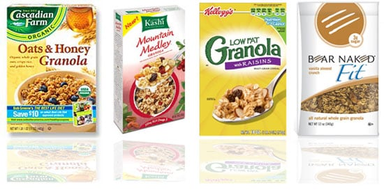Side by Side Nutritional Comparison of Popular Granola Brands