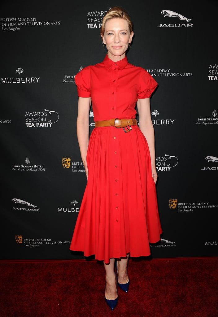 Cate Blanchett in Red Michael Kors at the 2014 BAFTA LA Awards