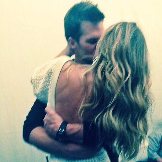 Gisele Bundchen and Tom Brady Kiss in Birthday Instagram