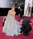 Amy Adams in Oscar de la Renta at the 2013 Oscars