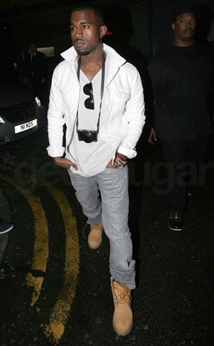 Kanye West Spotted in London With a Lumix LX3