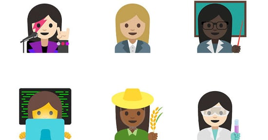 Google Makes Up for Getting Rid of the Scuttling-Crab Emoji With New Gender-Equality Emoji
