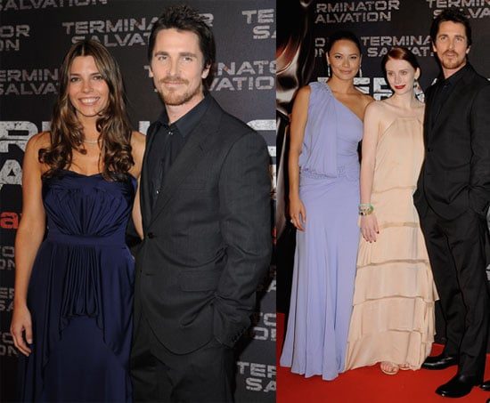 Photos of Christian Bale at Paris Premiere of Terminator Salvation