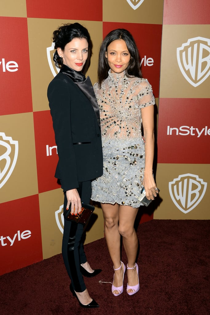 Liberty Ross and Thandie Newton were on the red carpet together.