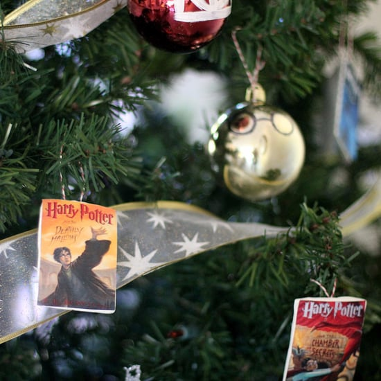 Harry Potter Book Cover Ornaments