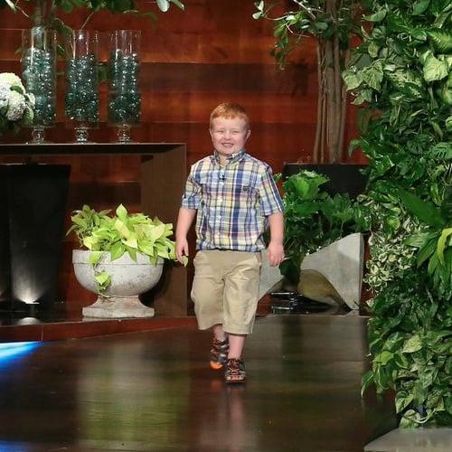 Apparently Kid Noah Ritter on The Ellen Show   Video