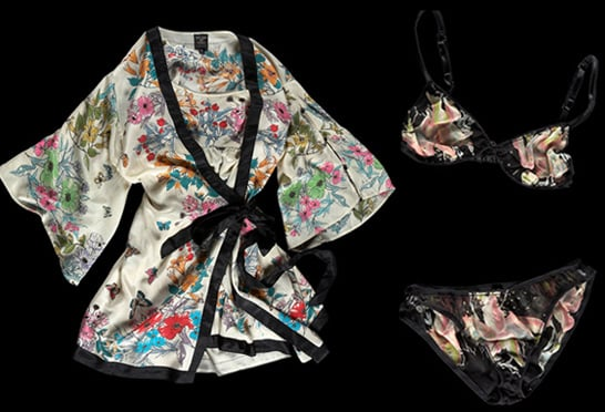 Kate Moss For Topshop Launches Nightwear as Well as Lingerie