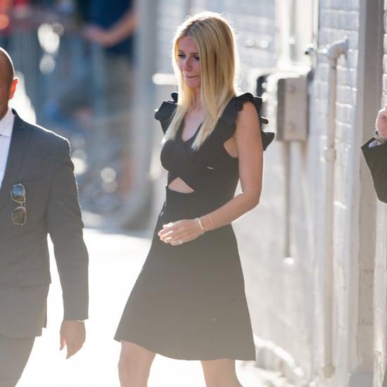 Gwyneth Paltrow Black Dress Street Style