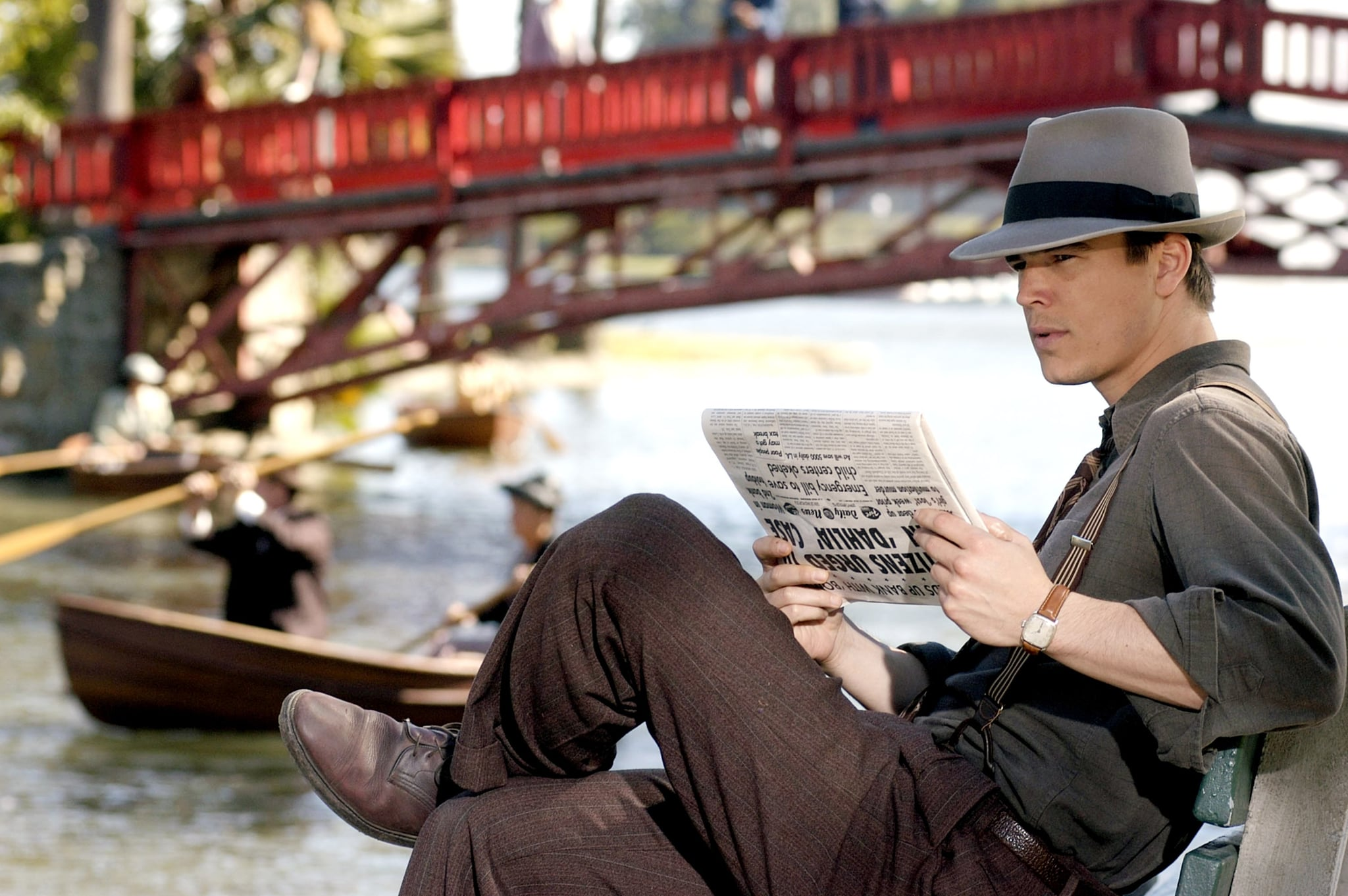 Check Him Out in '40s Clothing! Hot