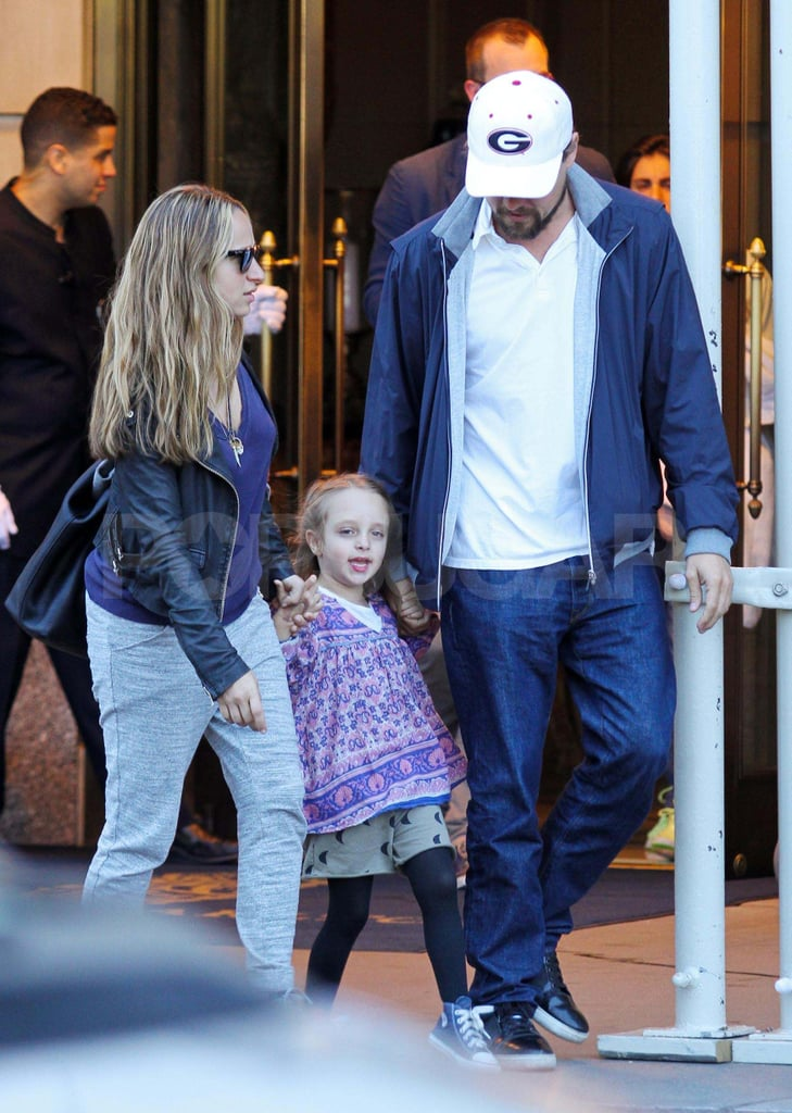 Jennifer Meyer and Ruby Maguire went to lunch with Leonardo DiCaprio.